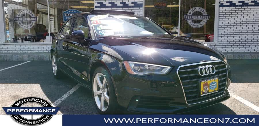 Used 2015 Audi A3 in Wilton, Connecticut | Performance Motor Cars. Wilton, Connecticut