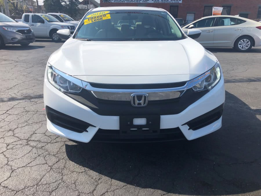 Used 2016 Honda Civic Sedan in Bridgeport, Connecticut | Affordable Motors Inc. Bridgeport, Connecticut