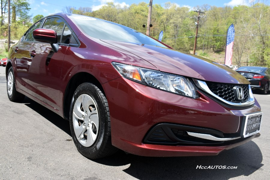 2014 Honda Civic Sedan 4dr CVT LX, available for sale in Waterbury, Connecticut | Highline Car Connection. Waterbury, Connecticut