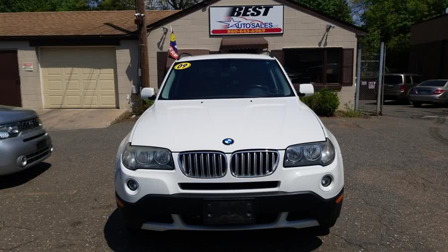 2009 BMW X3 AWD 4dr 30i, available for sale in Manchester, CT
