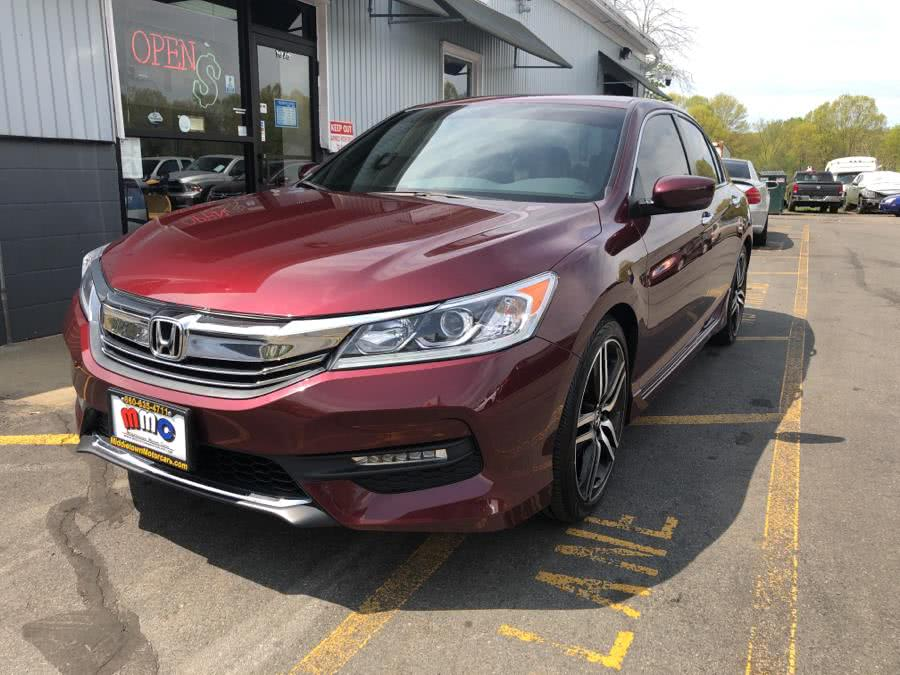 Used Honda Accord Sedan 4dr I4 CVT Sport 2016 | RT 3 AUTO MALL LLC. Middletown, Connecticut