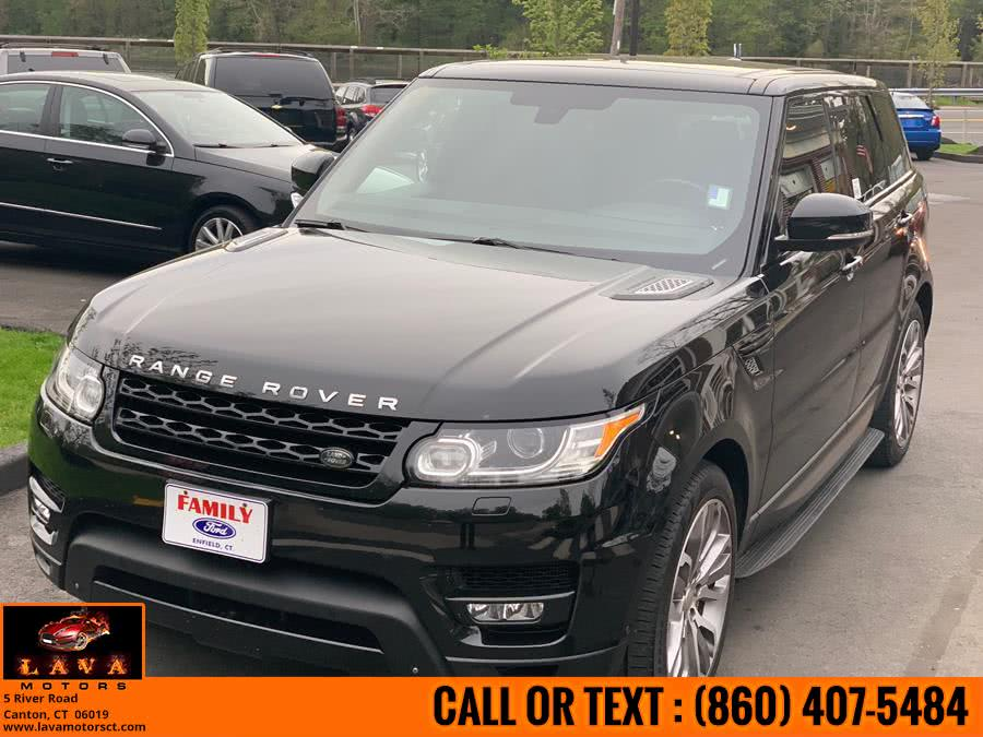 Used 2014 Land Rover Range Rover Sport in Canton, Connecticut | Lava Motors. Canton, Connecticut