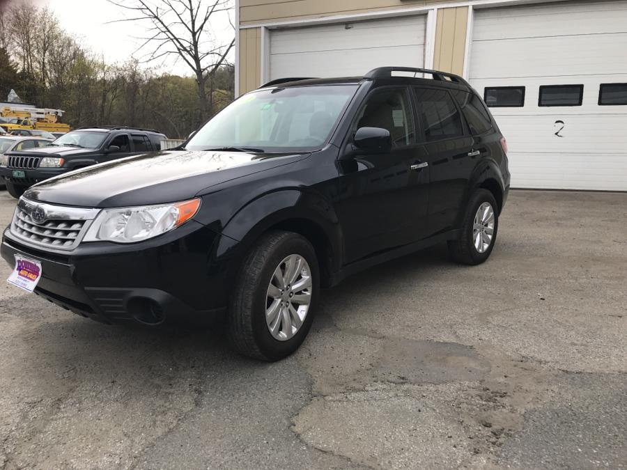2011 Subaru Forester 4dr Auto 2.5X Premium w/All-W Pkg & TomTom Nav, available for sale in Barre, Vermont   Routhier Auto Center. Barre, Vermont
