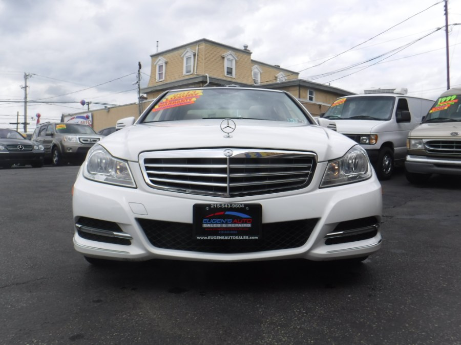 2013 Mercedes-Benz C-Class 4dr Sdn C300 Luxury 4MATIC, available for sale in Philadelphia, Pennsylvania | Eugen's Auto Sales & Repairs. Philadelphia, Pennsylvania