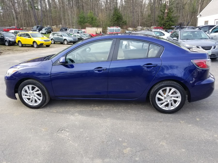 2012 Mazda Mazda3 4dr Sdn Auto i Touring, available for sale in Auburn, New Hampshire | ODA Auto Precision LLC. Auburn, New Hampshire