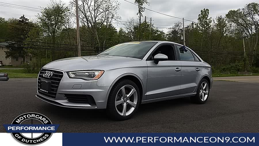 Used Audi A3 4dr Sdn quattro 2.0T Premium 2016 | Performance Motorcars Inc. Wappingers Falls, New York