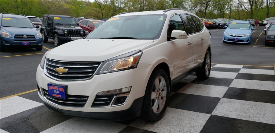 2015 Chevrolet Traverse AWD 4dr LTZ, available for sale in Waterbury, Connecticut | National Auto Brokers, Inc.. Waterbury, Connecticut