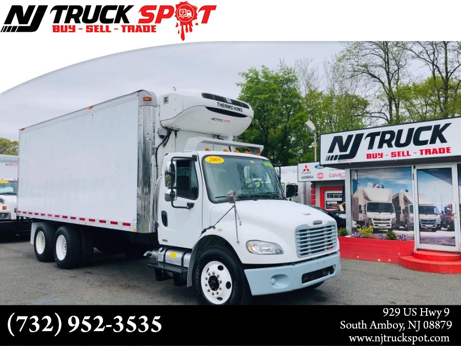 Used FREIGHTLINER M2 22 FEET THERMO KING REFRIGERATED BOX DUAL AXLE 2005 | NJ Truck Spot. South Amboy, New Jersey