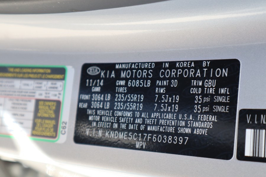 2015 Kia Sedona 4dr Wgn SX-L, available for sale in Jamaica, New York | Hillside Auto Mall Inc.. Jamaica, New York