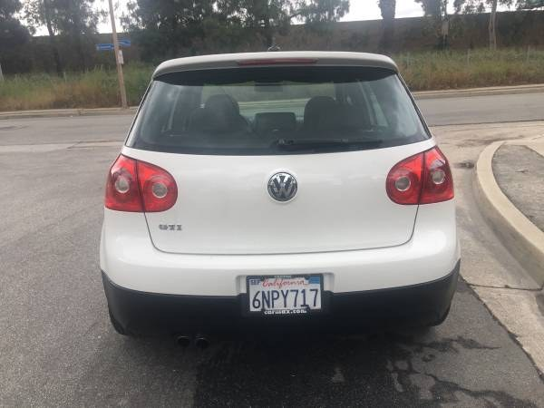 Used Volkswagen GTI 4dr HB DSG 2007 | Carmir. Orange, California
