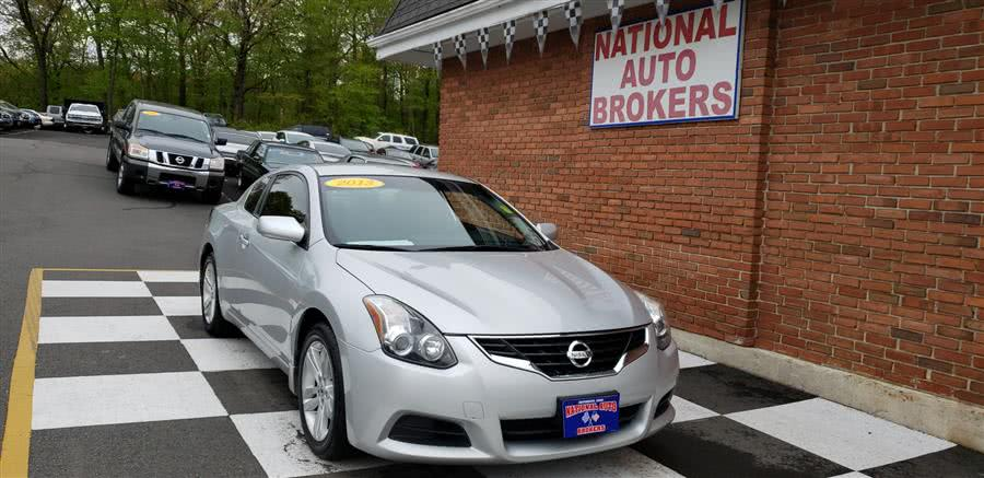 Used Nissan Altima 2dr Coupe 2.5 S 2013 | National Auto Brokers, Inc.. Waterbury, Connecticut