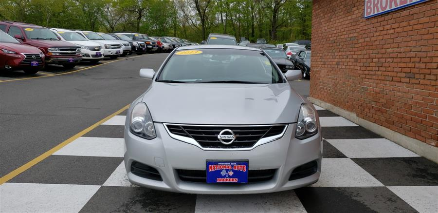2013 Nissan Altima 2dr Coupe 2.5 S, available for sale in Waterbury, Connecticut   National Auto Brokers, Inc.. Waterbury, Connecticut