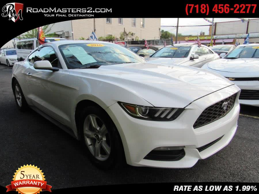 2016 Ford Mustang 2dr Fastback V6, available for sale in Middle Village, New York   Road Masters II INC. Middle Village, New York