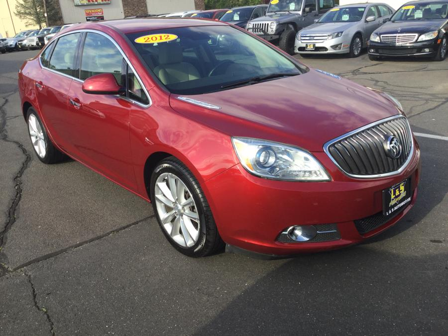 2012 Buick Verano 4dr Sdn Convenience Group, available for sale in Plantsville, Connecticut   L&S Automotive LLC. Plantsville, Connecticut