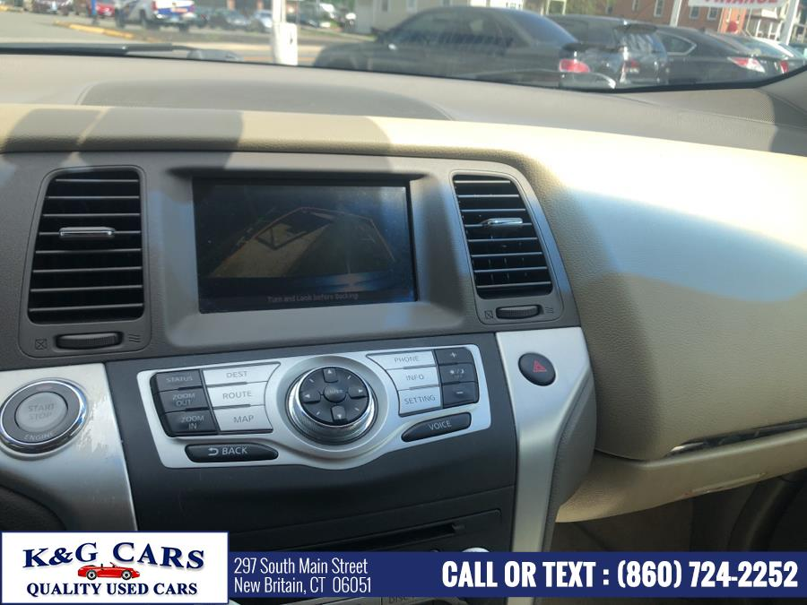 2009 Nissan Murano AWD 4dr LE, available for sale in New Britain, Connecticut   K and G Cars . New Britain, Connecticut