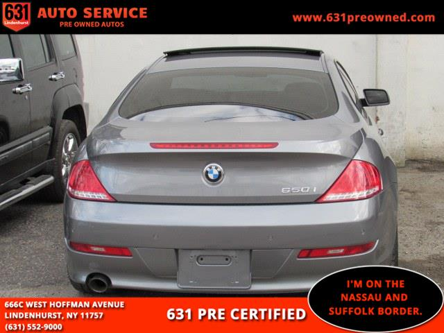 2009 BMW 6 Series 2dr Cpe 650i, available for sale in Lindenhurst, New York | 631 Auto Service. Lindenhurst, New York