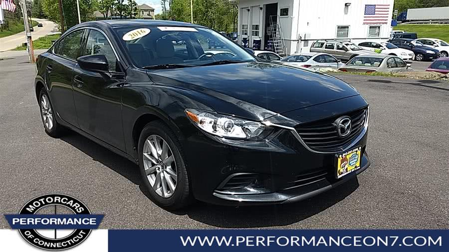 Used Mazda Mazda6 4dr Sdn Auto i Sport 2016 | Performance Motor Cars. Wilton, Connecticut