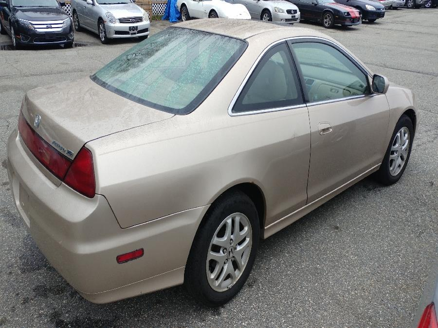 2002 Honda Accord Cpe EX Auto V6 w/Leather, available for sale in Chicopee, Massachusetts | Matts Auto Mall LLC. Chicopee, Massachusetts