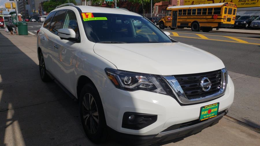 2017 Nissan Pathfinder 4x4 Platinum, available for sale in Jamaica, New York | Sylhet Motors Inc.. Jamaica, New York
