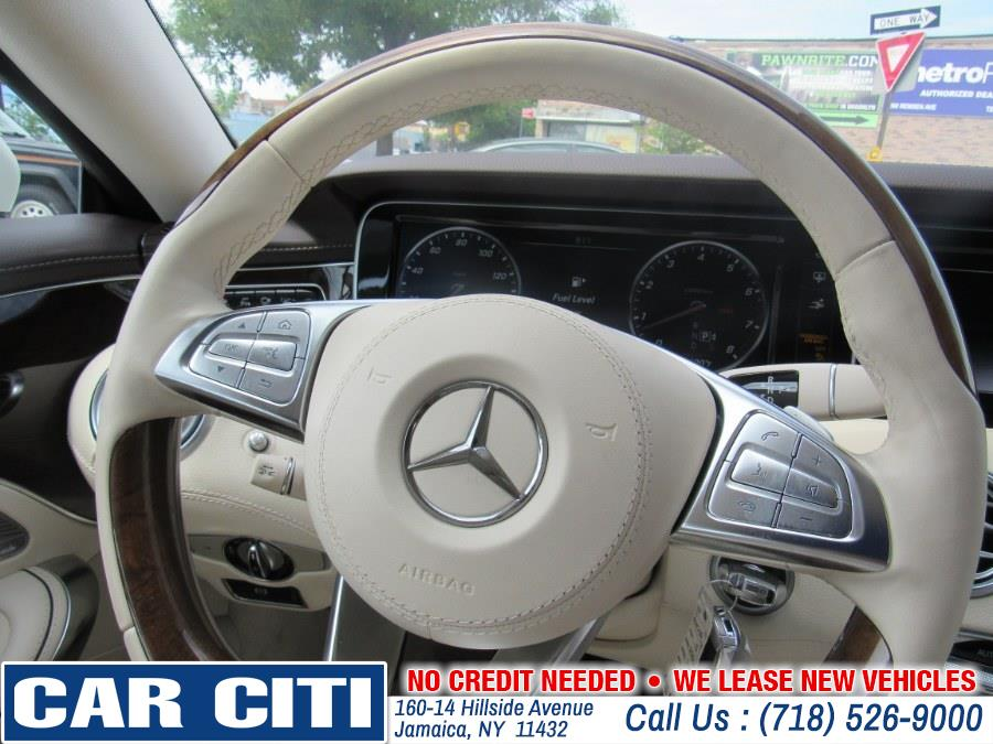 2015 Mercedes-Benz S-Class 2dr Cpe S 550 4MATIC, available for sale in Jamaica, New York | Car Citi. Jamaica, New York