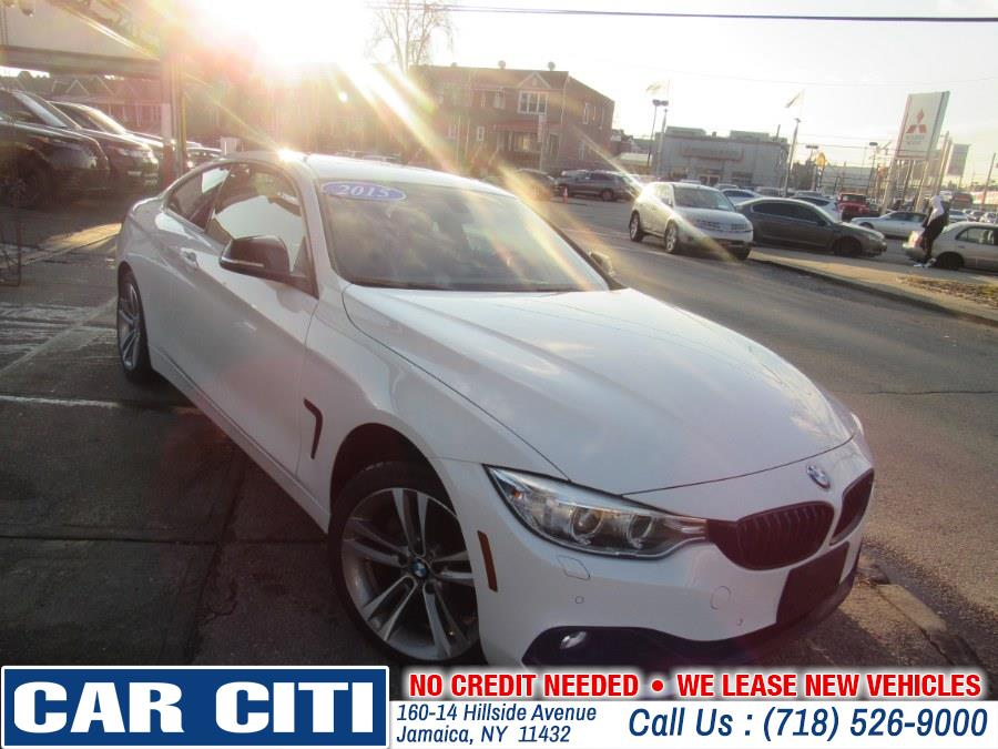 2015 BMW 4 Series 2dr Cpe 428i xDrive AWD SULEV, available for sale in Brooklyn, New York | E Cars . Brooklyn, New York
