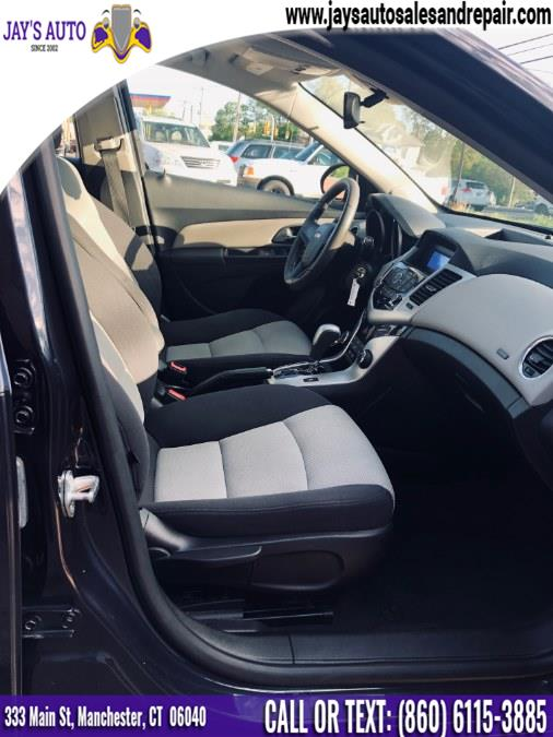 2014 Chevrolet Cruze 4dr Sdn Auto LS, available for sale in Manchester, Connecticut | Jay's Auto. Manchester, Connecticut