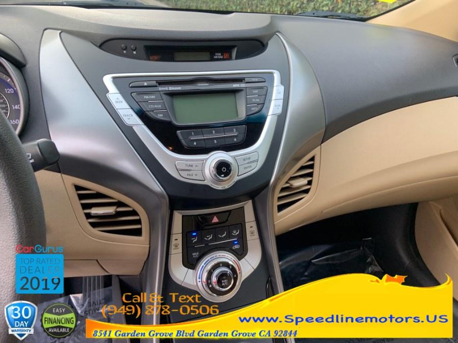 2012 Hyundai Elantra 4dr Sdn Auto GLS, available for sale in Garden Grove, California | Speedline Motors. Garden Grove, California