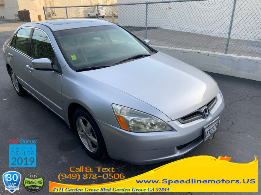 2004 Honda Accord Sdn EX Auto w/Leather/XM/Nav, available for sale in Garden Grove, California | Speedline Motors. Garden Grove, California
