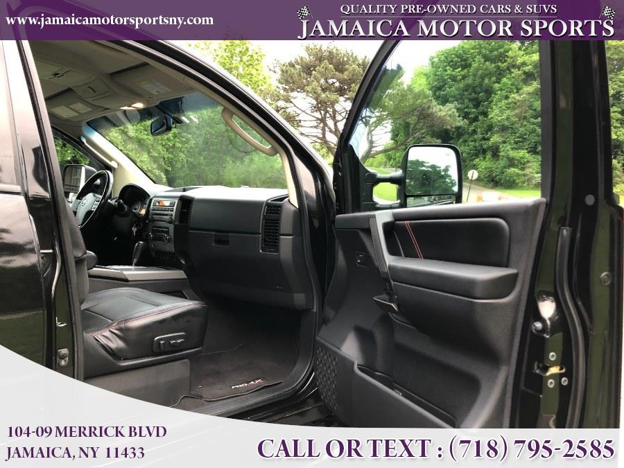 2008 Nissan Titan 4WD Crew Cab SWB PRO-4X, available for sale in Jamaica, New York | Jamaica Motor Sports . Jamaica, New York