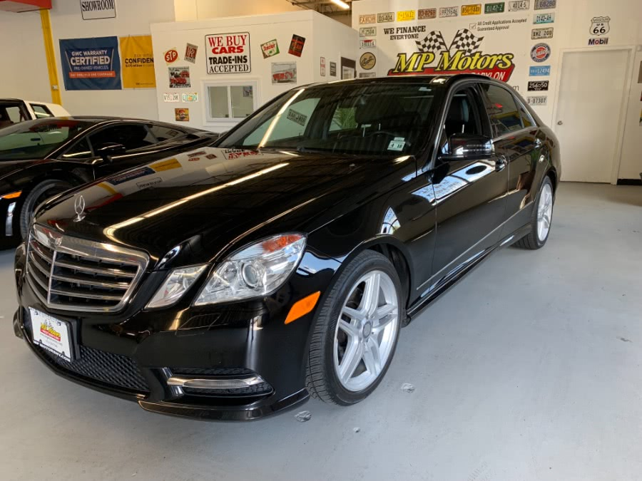 Used Mercedes-Benz E-Class 4dr Sdn E350 Sport 4MATIC *Ltd Avail* 2013 | MP Motors Inc. West Babylon , New York