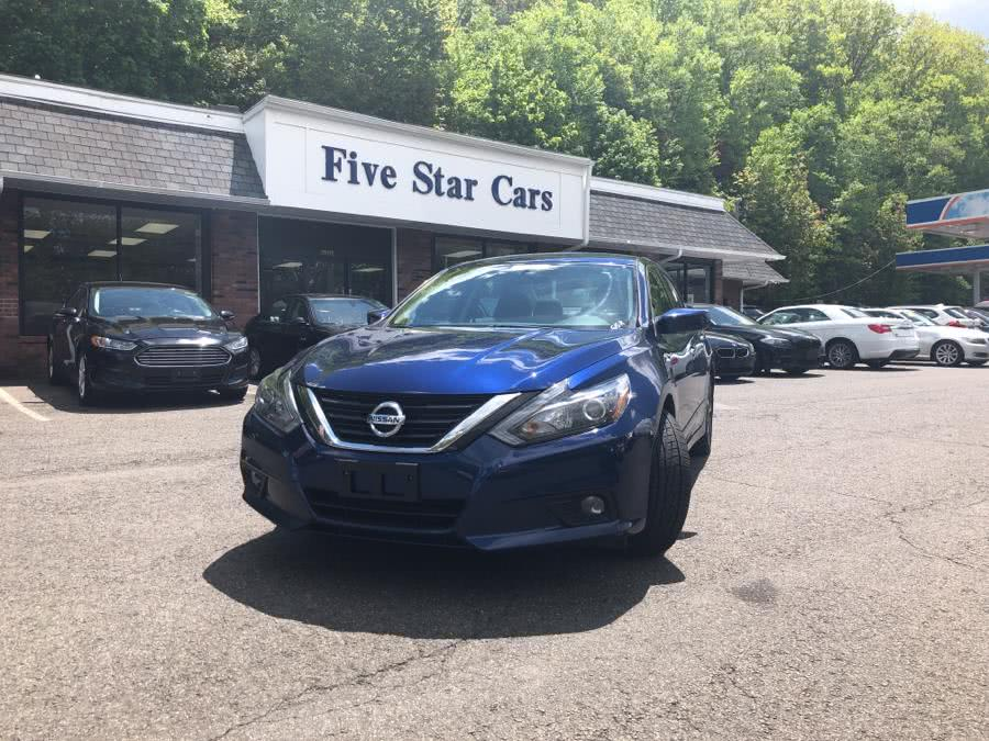 Used Nissan Altima 4dr Sdn I4 2.5 SR 2016 | Five Star Cars LLC. Meriden, Connecticut