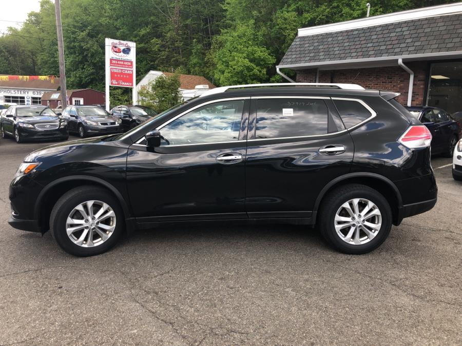 2016 Nissan Rogue AWD 4dr S, available for sale in Meriden, Connecticut | Five Star Cars LLC. Meriden, Connecticut
