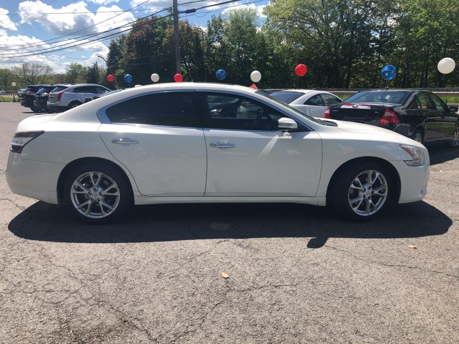2012 Nissan Maxima 4dr Sdn V6 CVT 3.5 S, available for sale in Meriden, Connecticut | Five Star Cars LLC. Meriden, Connecticut