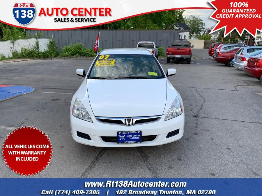 Used 2007 Honda Accord Sdn in Taunton, Massachusetts | Rt 138 Auto Center Inc . Taunton, Massachusetts