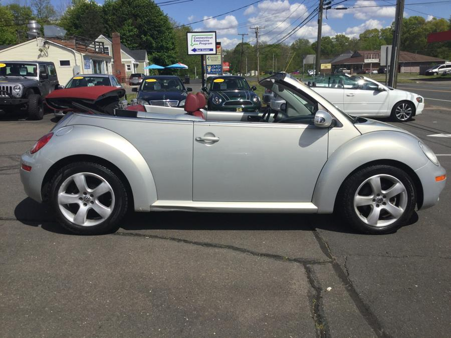 2009 Volkswagen New Beetle Convertible 2dr Auto Blush, available for sale in Plantsville, Connecticut | L&S Automotive LLC. Plantsville, Connecticut
