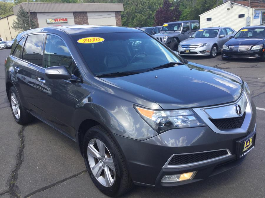 2010 Acura MDX AWD 4dr, available for sale in Plantsville, Connecticut | L&S Automotive LLC. Plantsville, Connecticut
