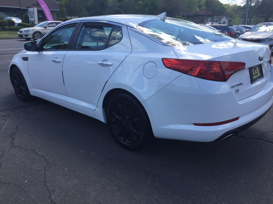 2013 Kia Optima 4dr Sdn LX, available for sale in Plantsville, Connecticut | L&S Automotive LLC. Plantsville, Connecticut