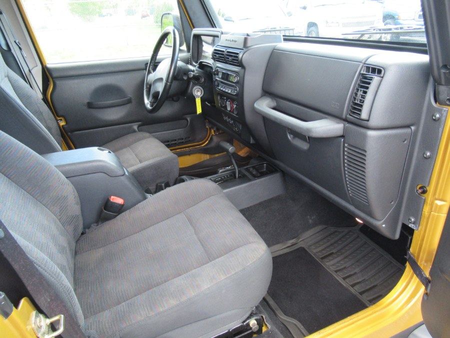 2003 Jeep Wrangler 2dr Sport, available for sale in South Windsor, Connecticut | Mike And Tony Auto Sales, Inc. South Windsor, Connecticut
