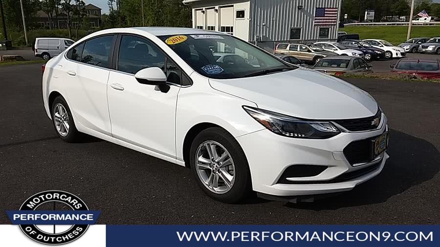 Chevy Cruze Lt >> Chevrolet Cruze 2016 In Wappingers Falls Poughkeepsie Newburgh Beacon Ny Performance Motorcars Inc 65141012ct