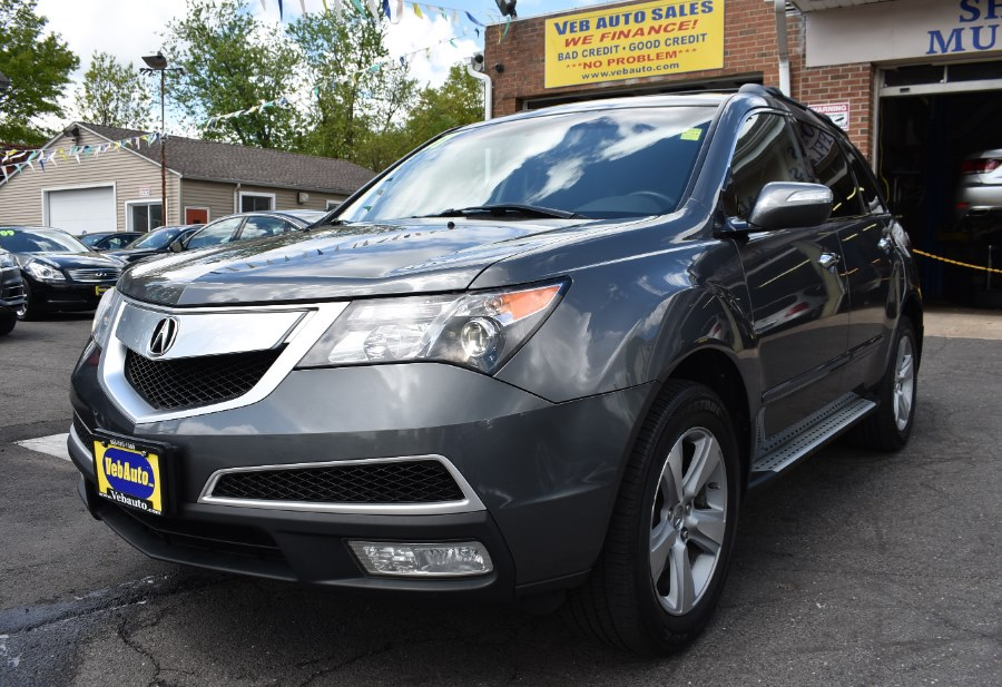 2011 Acura MDX AWD 4dr Tech/Entertainment Pkg, available for sale in Hartford, Connecticut | VEB Auto Sales. Hartford, Connecticut