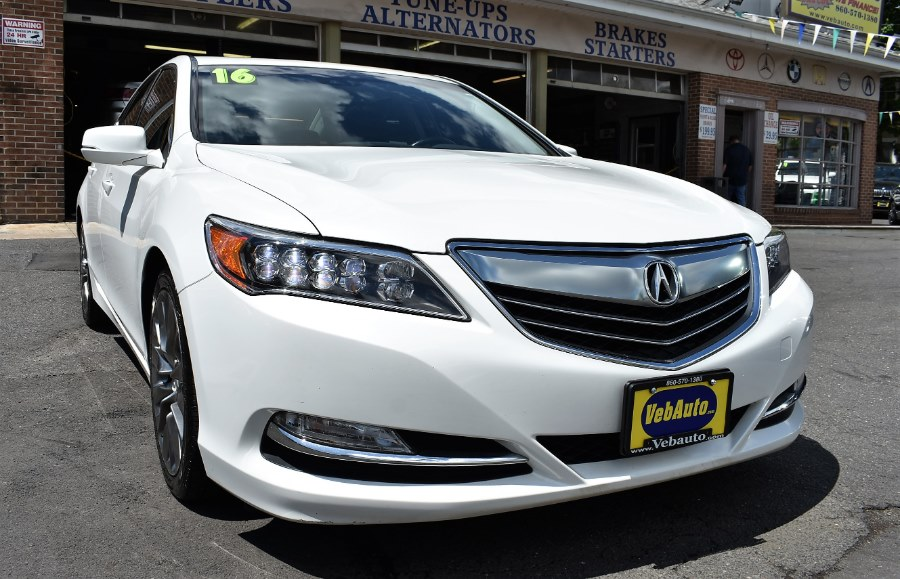 2016 Acura RLX 4dr Sdn Tech Pkg, available for sale in Hartford, Connecticut | VEB Auto Sales. Hartford, Connecticut