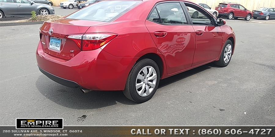 2016 Toyota Corolla LE, available for sale in S.Windsor, Connecticut | Empire Auto Wholesalers. S.Windsor, Connecticut