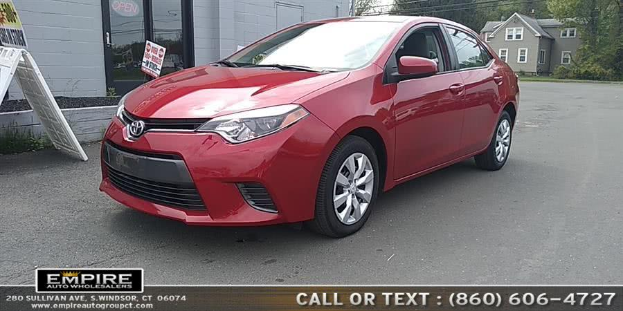 Used Toyota Corolla LE 2016 | Empire Auto Wholesalers. S.Windsor, Connecticut