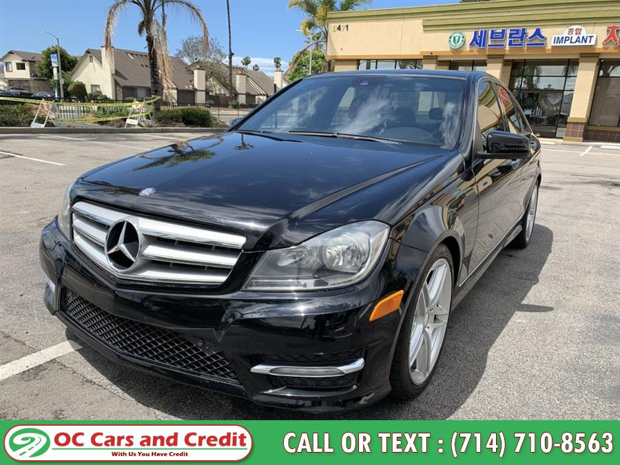 2012 Mercedes-benz C-class C300 4MATIC, available for sale in Garden Grove, California   OC Cars and Credit. Garden Grove, California