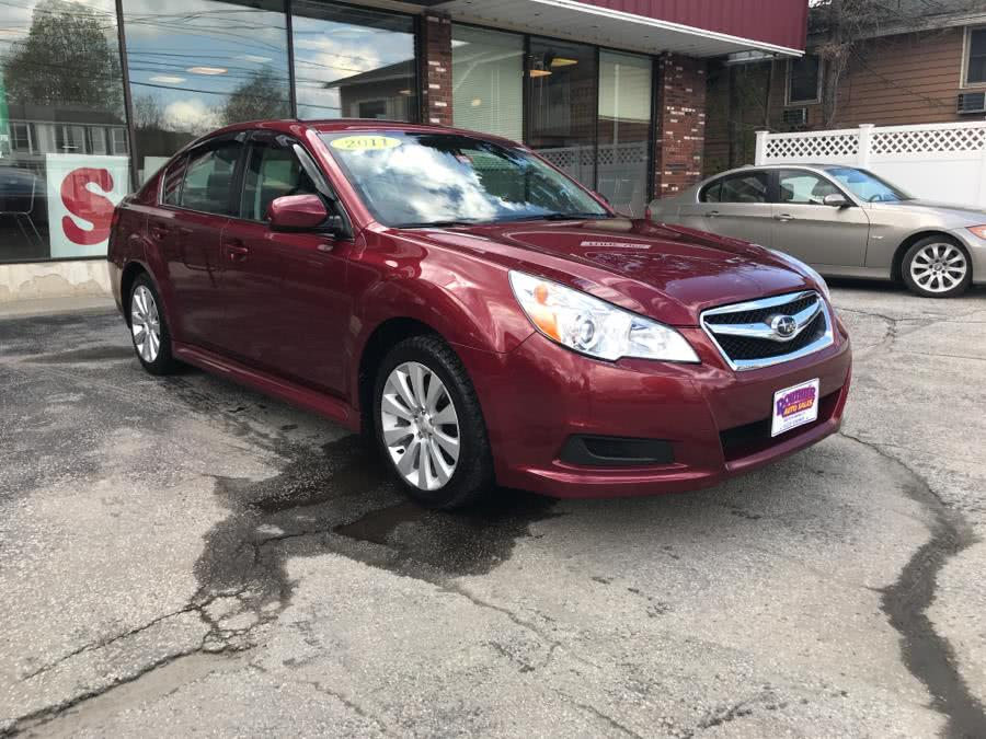 2011 Subaru Legacy 4dr Sdn H4 Auto 2.5i Ltd, available for sale in Barre, Vermont | Routhier Auto Center. Barre, Vermont