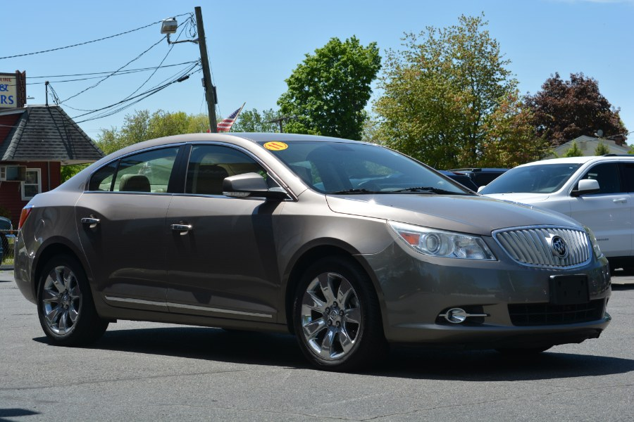2011 Buick LaCrosse 4dr Sdn CXL FWD, available for sale in ENFIELD, Connecticut | Longmeadow Motor Cars. ENFIELD, Connecticut