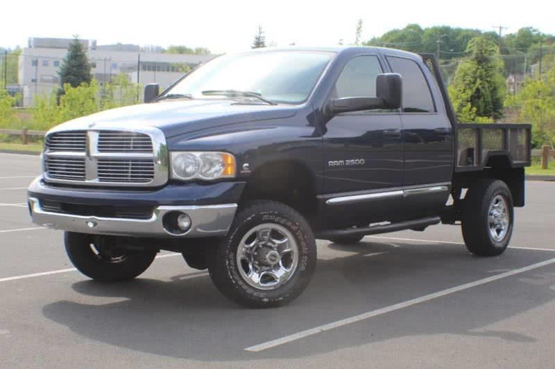 2005 Dodge Ram Pickup 2500 Laramie 4dr Quad Cab 4WD SB, available for sale in Waterbury, CT