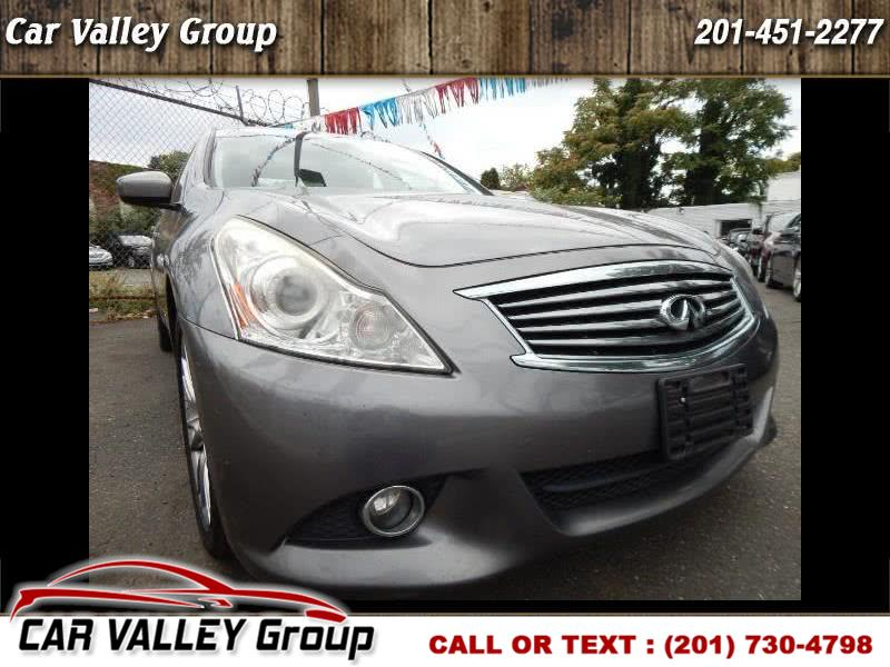 Used 2010 Infiniti G37 Sedan in Jersey City, New Jersey | Car Valley Group. Jersey City, New Jersey
