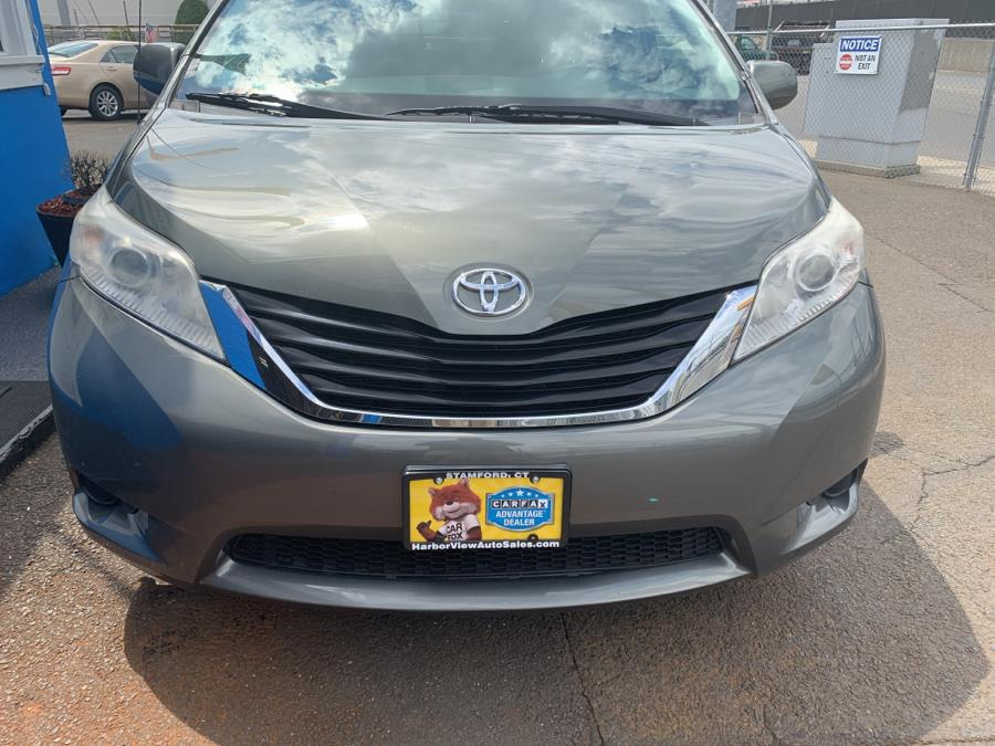 2011 Toyota Sienna 5dr 8-Pass Van V6 LE FWD (Natl), available for sale in Stamford, Connecticut   Harbor View Auto Sales LLC. Stamford, Connecticut