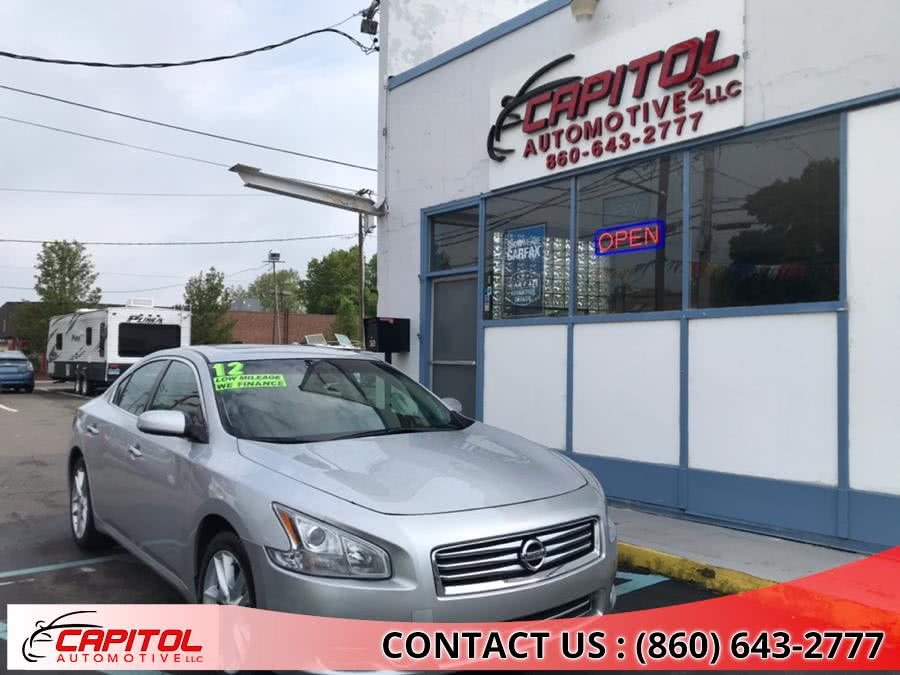 2012 Nissan Maxima 4dr Sdn V6 CVT 3.5 SV w/Premium Pkg, available for sale in Manchester, Connecticut | Capitol Automotive 2 LLC. Manchester, Connecticut